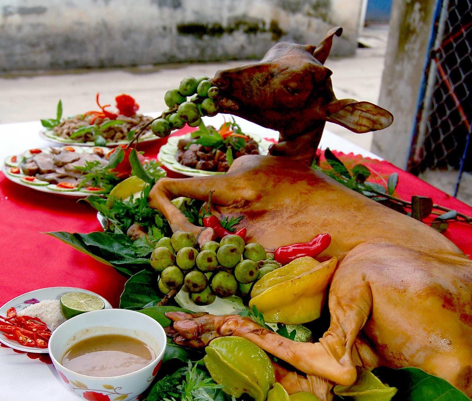 Đặc sản 4 phương hướng đến những món ngon ẩm thực